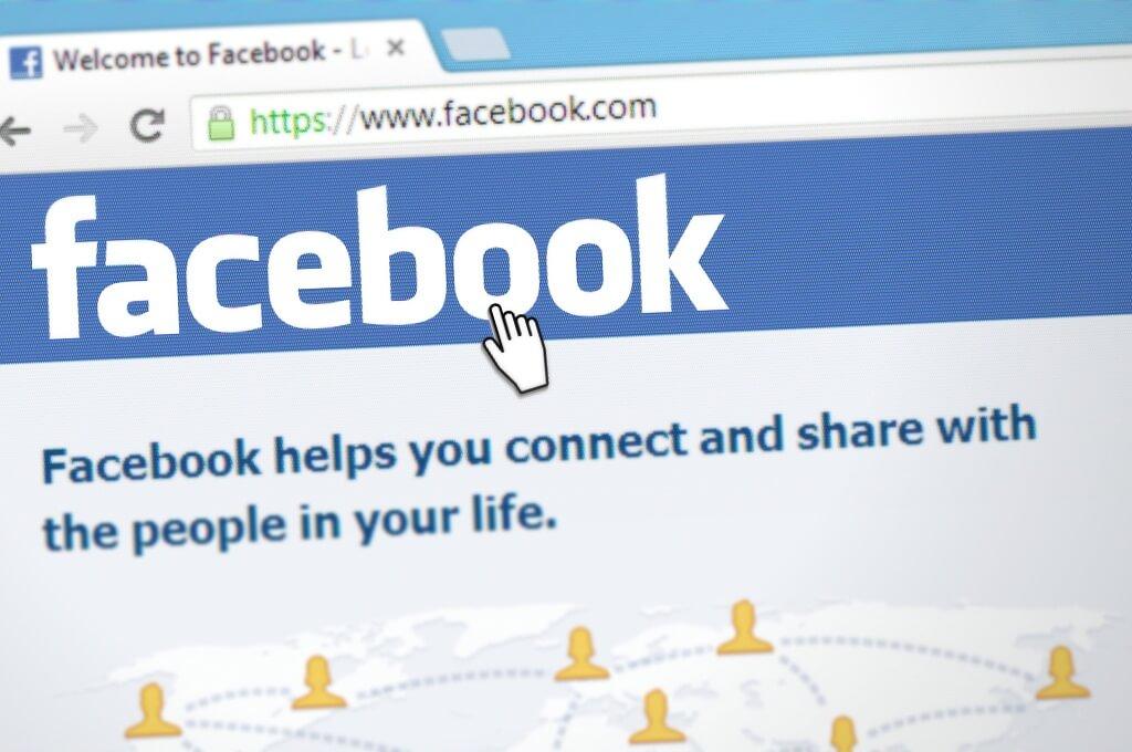 Schermata iniziale per creare una pagina Facebook aziendale